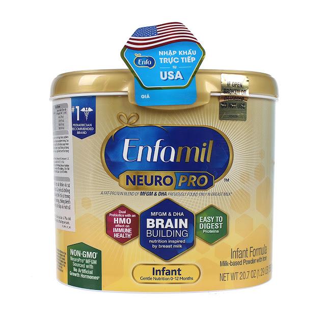 sữa Enfamil NeuroPro Infant Formula 598g